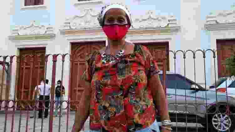 Maria do Carmo Santana, de 57 anos, disse que recorre à doação todos os dias porque não teria condições de fazer três refeições em casa - ARQUIVO PESSOAL - ARQUIVO PESSOAL