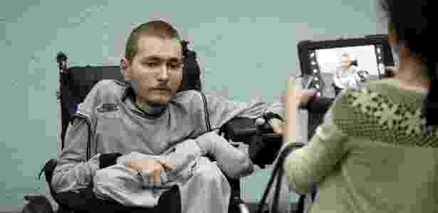 O russo Valery Spiridonov, de 31 anos, quer se submeter à cirurgia - Maxim Zmeyev/Reuters - Maxim Zmeyev/Reuters