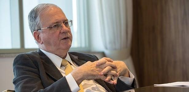 Marco Antonio Zago, reitor da USP, em seu gabinete em São Paulo