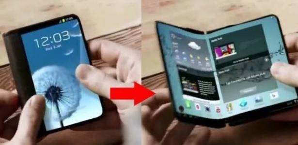 Rumores dizem que o novo celular da Samsung será assim - Reprodução