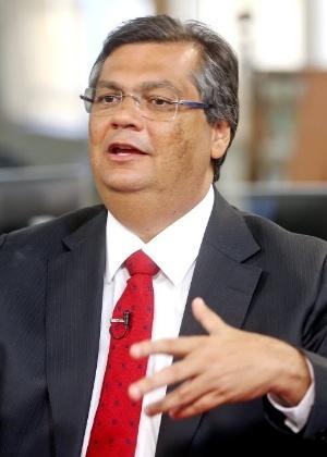 O governador do Maranhão, Flávio Dino (PCdoB), está no primeiro mandato