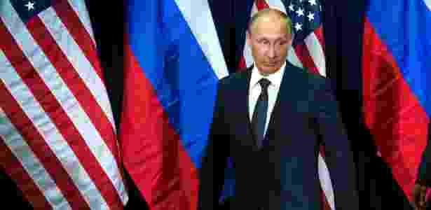25.07.2016 - Vladimir Putin depois de conhecer o presidente Barack Obama em NY - Doug Mills/The New York Times - Doug Mills/The New York Times