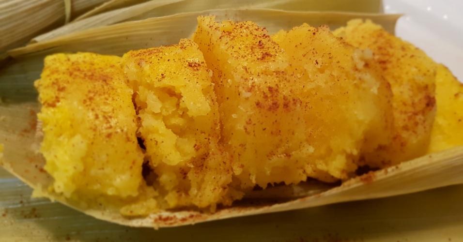 A empresa Pamonha Gourmet vende a iguaria congelada para o Brasil e exterior