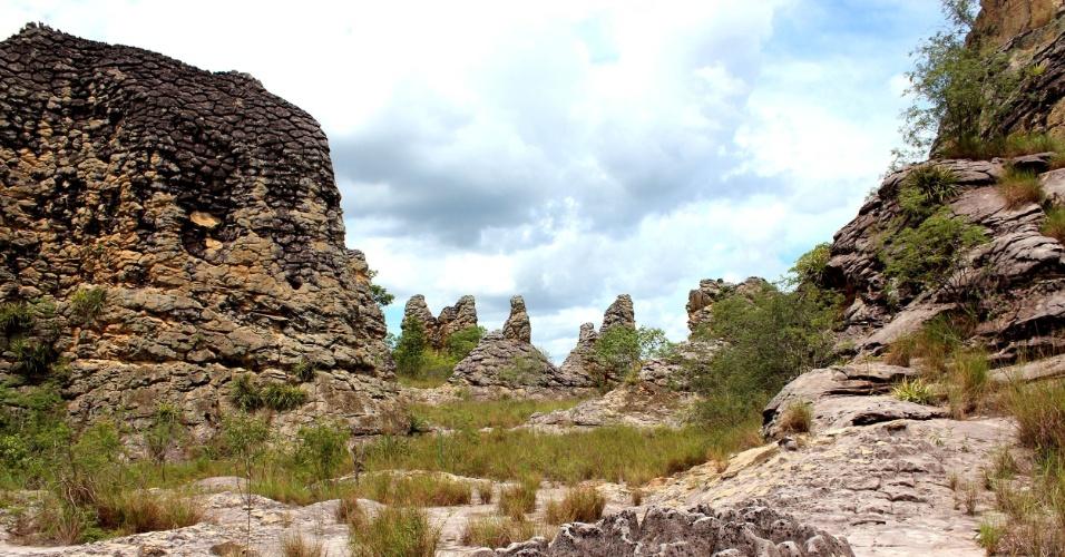4.abr.2017 - As paisagens pré-históricas do Parque Nacional de Sete Cidades