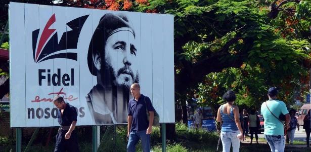 Fidel Castro completaria 91 anos neste domingo (13)