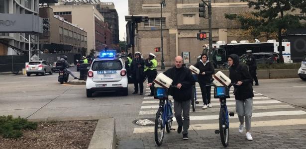 Ciclistas voltam à região em que atropelamento em massa fez oito vítimas em Manhattan