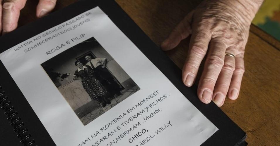 27.jan.2018 - Strul, seu pai, sua mãe e seis irmãos viveram em Moine?ti, na Romênia, até a chegada de tropas aliadas aos nazistas