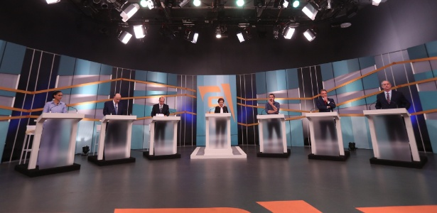 9.set.2018 - Debate os candidatos à Presidência na TV Gazeta