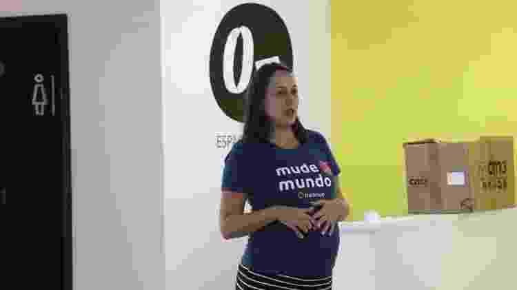 A jornalista e advogada Anna Lethicia Rosseto, 36, foi contratada no nono mês de gravidez pela Trackmob - Divulgação - Divulgação