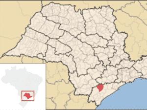 A cidade de Sete Barras fica no Vale do Ribeira, no estado de São Paulo - Reprodução/Wikimedia Commons