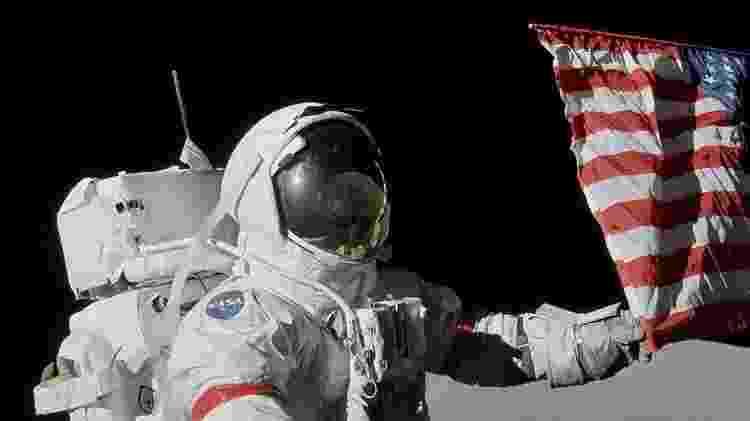 Gene Cernan foi a décima primeira pessoa a andar na Lua em dezembro de 1972 - Donaldson Collection/getty Images