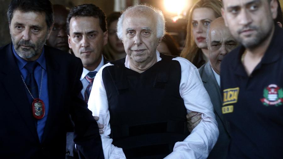 20.ago.2014 -  O ex-médico Roger Abdelmassih em foto de arquivo  - Ernesto Rodrigues/Folhapress
