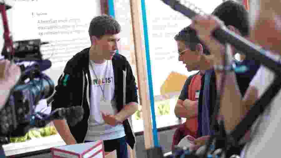 Jovem estudante Fionn Ferreira, de 18 anos, venceu a Google Science Fair 2019 - Fionn Ferreira/Divulgação