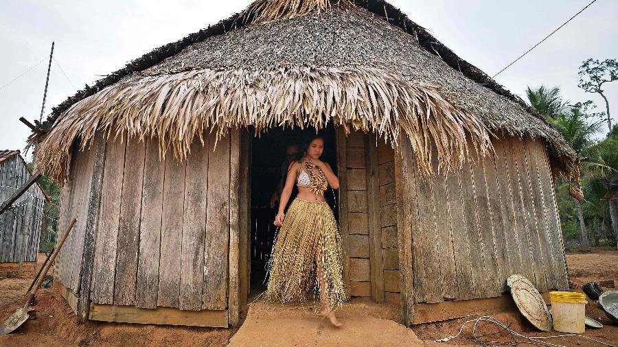 Barroso disse que algumas das áreas anunciadas no Facebook pertencem ao povo Uru-Eu-Wau-Wau - Carl de Souza/AFP
