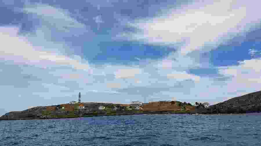 Ilha de Santa Bárbara, no arquipélago de Abrolhos, na Bahia - Carolina Muniz/Folhapress