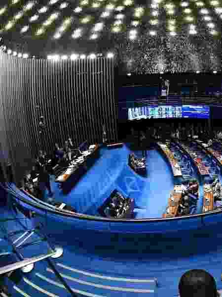 22.out.2019 - Plenário do Senado - Roque de Sá/Agência Senado