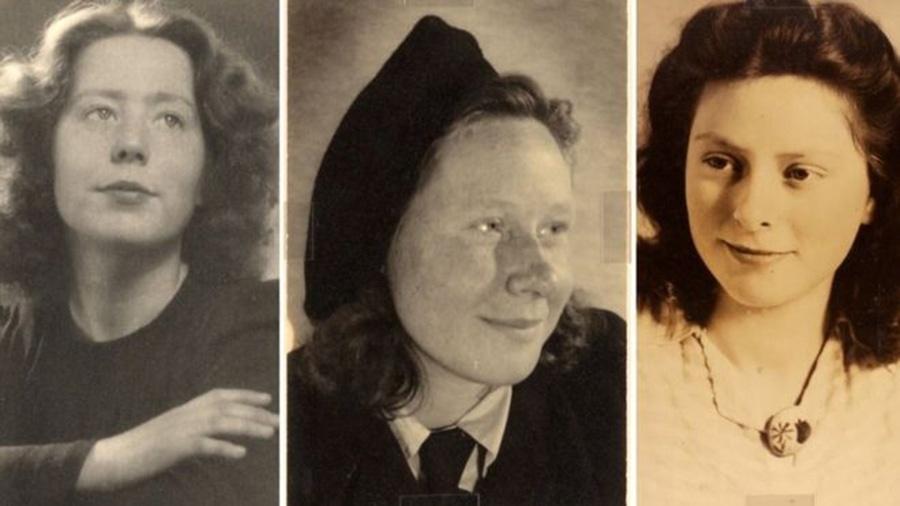 Hannie Schaft e as irmãs Truus e Freddie Oversteegen eram adolescentes quando os nazistas ocuparam a Holanda - Noord-Hollands Archief