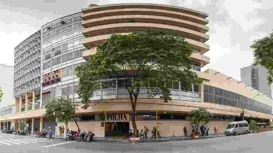 O velho prédio da alameda Barão de Limeira, em São Paulo, lar da Folha, do UOL, e de muitas histórias deste repórter que vos escreve - Webysther