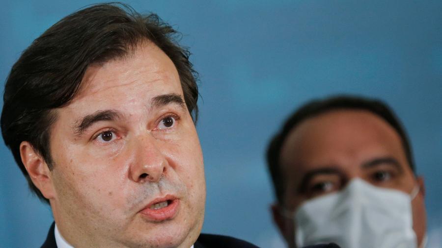 O deputado e ex-presidente da Câmara, Rodrigo Maia, rebateu as críticas feitas por Arthur Lira (PP-AL) -