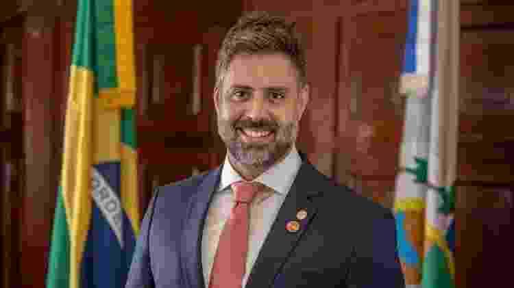 O deputado Alexandre Freitas (NOVO) - Rafael Wallace/Divulgação - Rafael Wallace/Divulgação