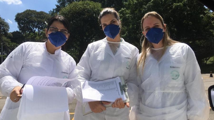 Funcionários da Siemens: protocolo de cuidados abrangente foi decisivo no combate à pandemia - Divulgação/Siemens