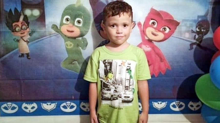 Davi Lucca morreu aos 4 anos de idade - Arquivo Pessoal/Renata Cardoso