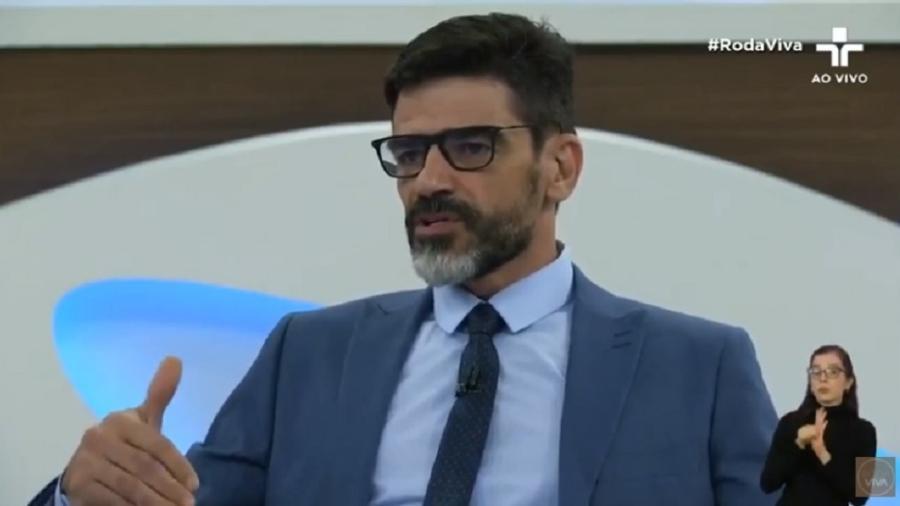 """Alexandre Saraiva participa do """"Roda Viva"""", da TV Cultura - Reprodução/TV Cultura"""