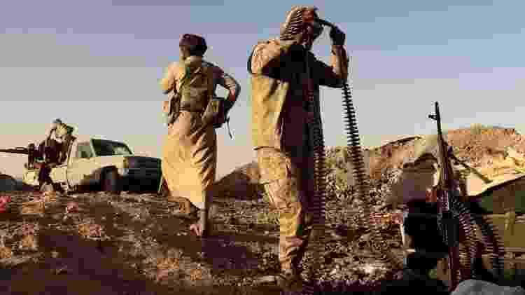 Arábia Saudita e Emirados Árabes apoiaram as forças pró-governo na guerra civil de seis anos do Iêmen - REUTERS - REUTERS