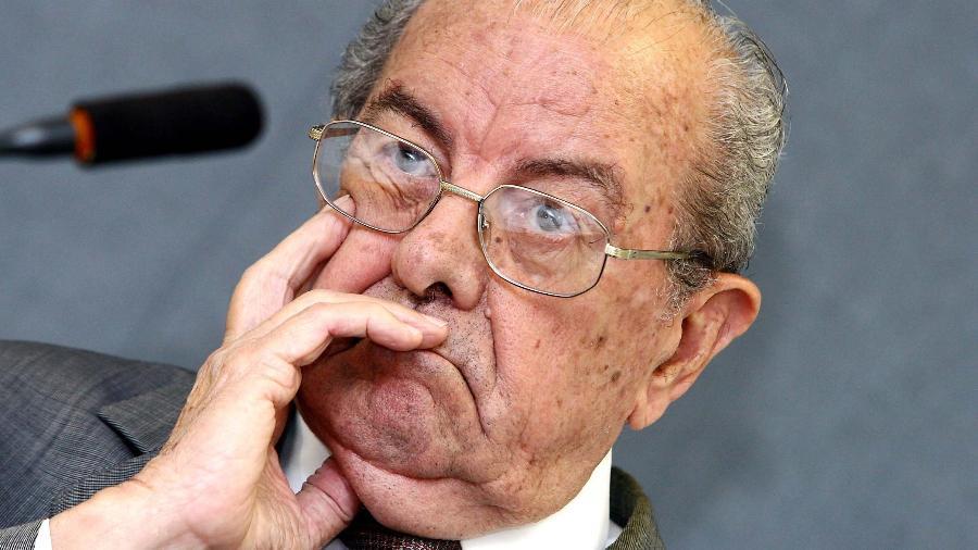 Jarbas Passarinho foi ministro do Trabalho, da Educação e da Previdência Social durante a ditadura militar - Bruno Stuckert/Folhapress