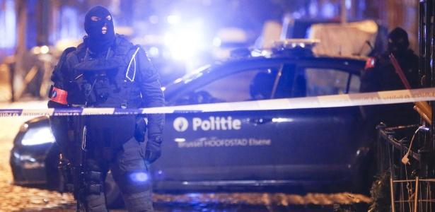 Bélgica tem mais de uma operação antiterror em andamento, informa polícia - Olivier Hoslet/EPA/Efe