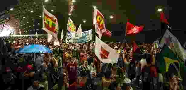 No Rio, ato começou no Copacabana Palace e terminou no Canecão - Hermes de Paula / Ag. O Globo - Hermes de Paula / Ag. O Globo