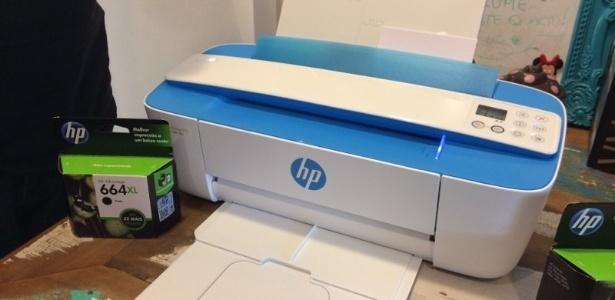 Impressora multifuncional HP DeskJet Ink Advantage 3776 - Márcio Padrão/UOL