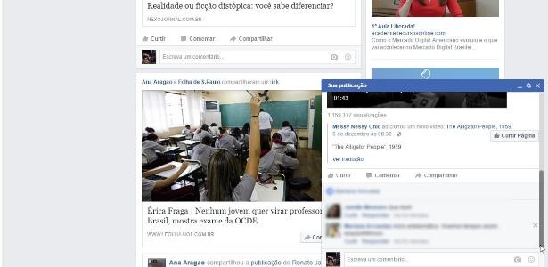 Facebook começa a testar recurso de janela para acompanhar repercussão de postagens