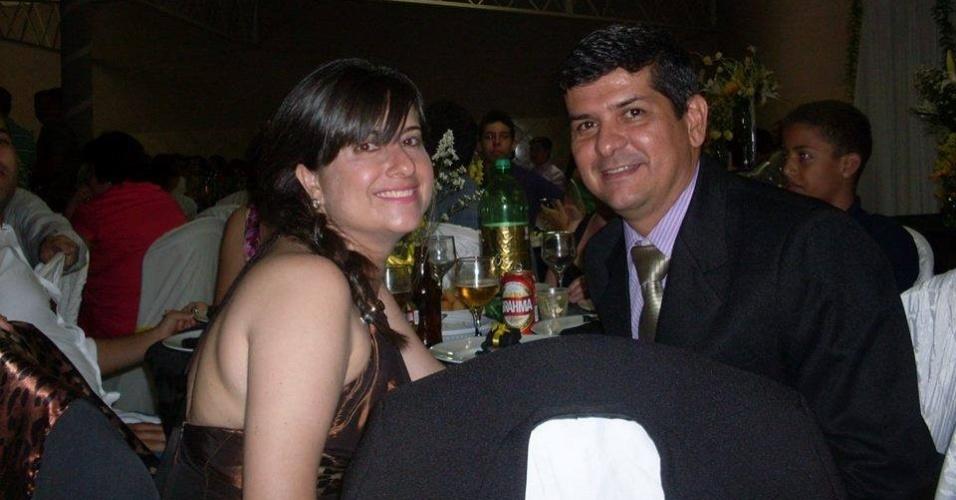Liliane Ferreira Donato (44), morta na chacina em Campinas, e Sandro Donato, um dos sobreviventes