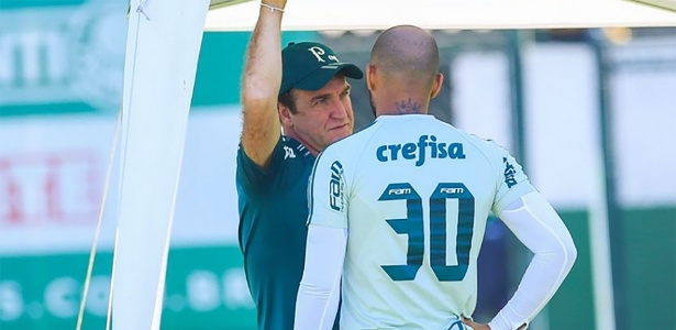 Cuca anunciou a volta de Felipe Melo e propôs uma nova meta para o elenco