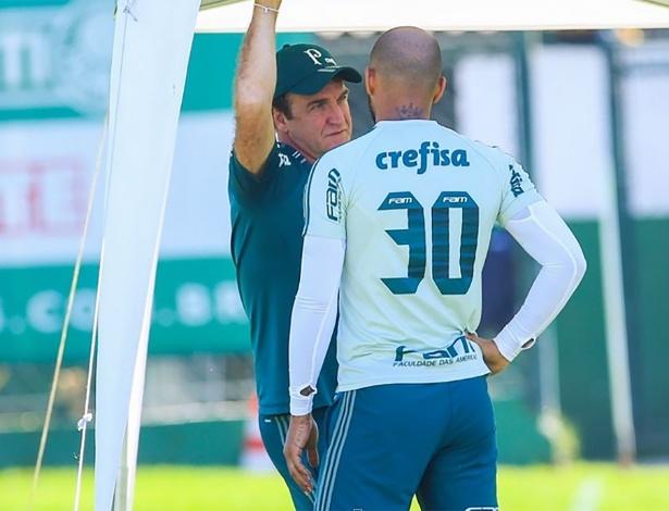 Cuca anunciou Felipe Melo entre os relacionados para o jogo de quinta-feira