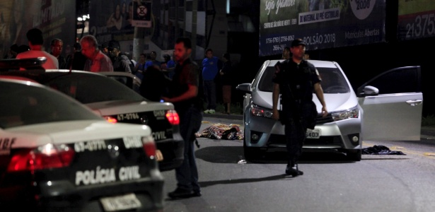 Em São João de Meriti, uma tentativa de assalto contra o dono de um parque de diversões terminou com 2 pessoas mortas