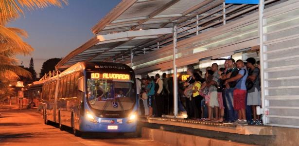 Com a decisão do consórcio, BRT Transoeste deixará de ir até o bairro de Campo Grande, na zona oeste