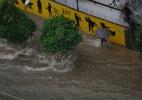 Chuva deixa São Paulo em estado de atenção - Nelson Antoine/Estadão Conteúdo