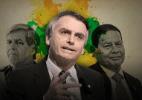 Bolsonaro e seus generais: Militares planejam ações de eventual governo - Arte UOL
