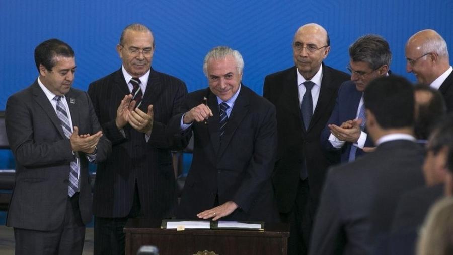 Reforma trabalhista foi aprovada em 2017, após sete meses de tramitação - VALTER CAMPANATO/AGÊNCIA BRASIL