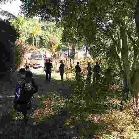 Fazenda abandonada em Queimados (RJ) serviu como cemitério de milícia - Divulgação/MP