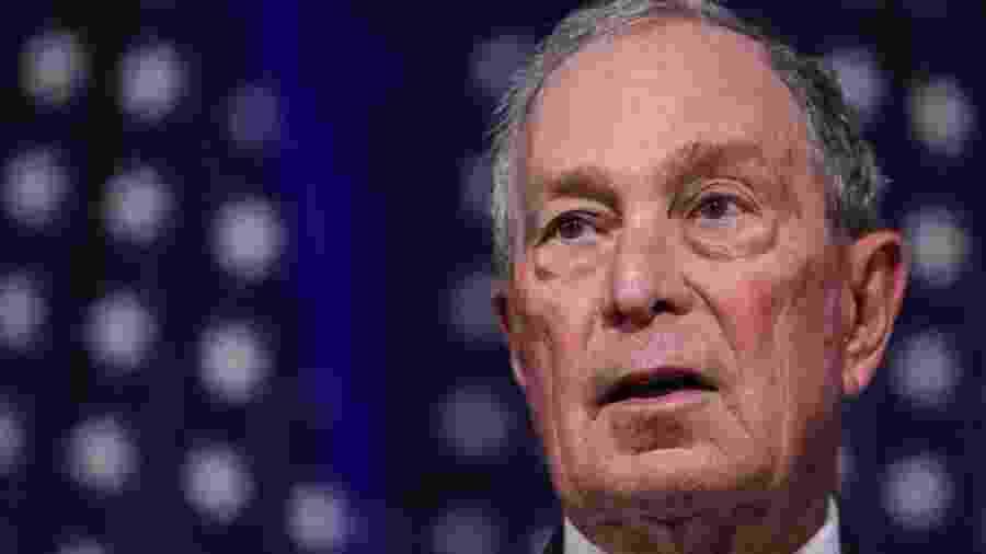 Bloomberg, de 77 anos, é a oitava pessoa mais rica do mundo - Getty Images