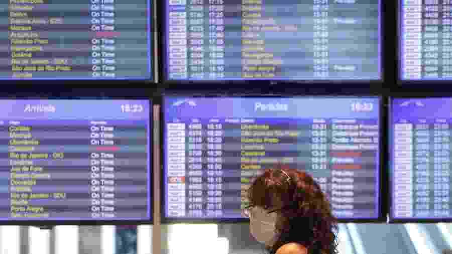 Preço das passagens aéreas caiu 16,75% em março - Rahel Patrasso