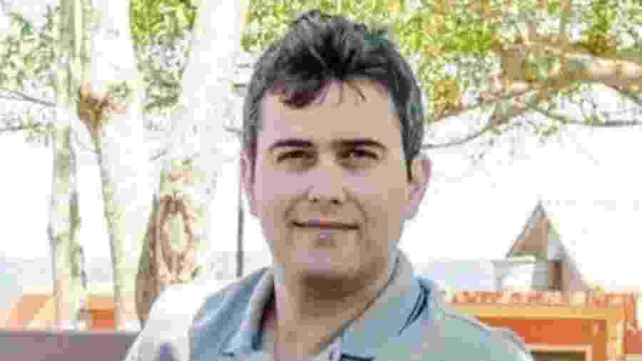 O representante comercial Aislan Corrêa foi infectado pelo coronavírus - Arquivo Pessoal