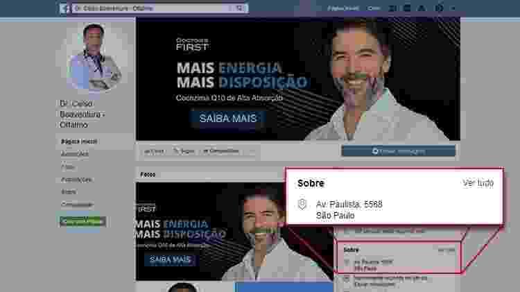 Dr. Celso Boaventura - Reprodução/Facebook - Reprodução/Facebook