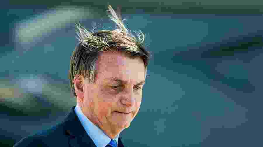 Bolsonaro afirmou que a imprensa virou um parte de oposição do governo - VAN CAMPOS/O FOTOGRÁFICO/ESTADÃO CONTEÚDO