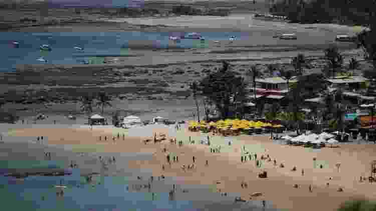 Reabertura do turismo em Morro de São Paulo-BA - Raul Spinassé/UOL - Raul Spinassé/UOL