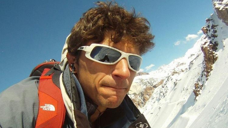Lucas de Zorzi, 39, que morreu durante um rapel em Santa Catarina - Reprodução/Facebook - Reprodução/Facebook
