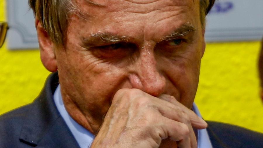 O presidente Jair Bolsonaro (sem partido) durante visita técnica à Ceagesp, em São Paulo, em dezembro de 2020 - Aloísio Maurício/Fotoarena/Estadão Conteúdo